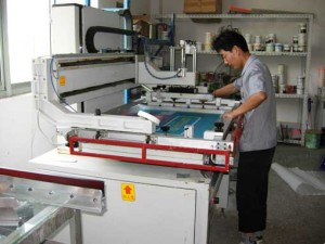 Automatic Screen Print Machine