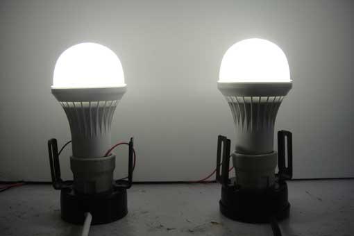 LED Bulbs on Test Bed